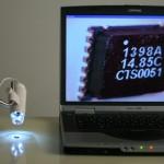Microscope Numérique DINO-LITE 4 LEDs EXEMPLE INDUSTRIE