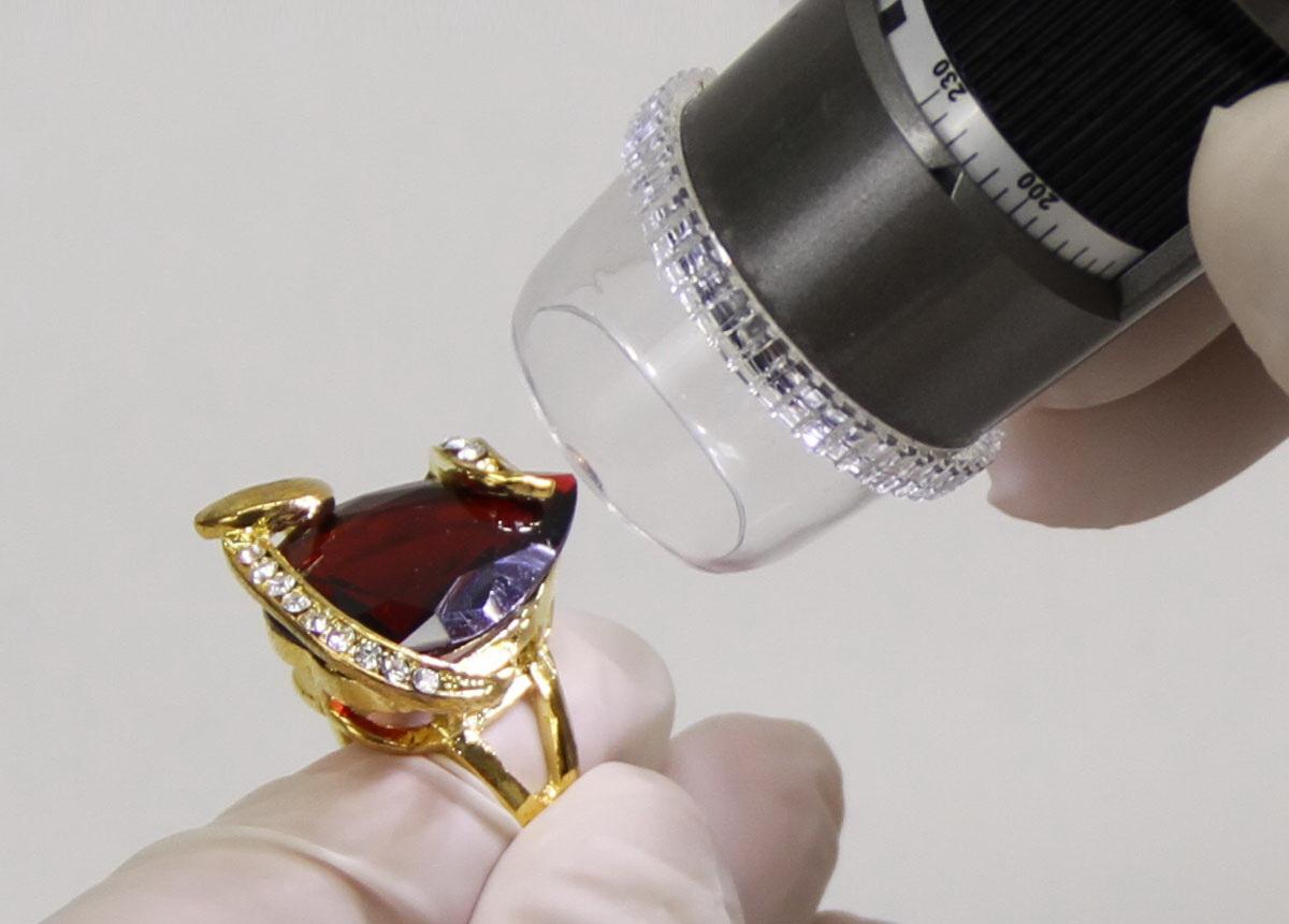 Microscope Numérique DINO-LITE Pro avec polariseur BIJOUTIER