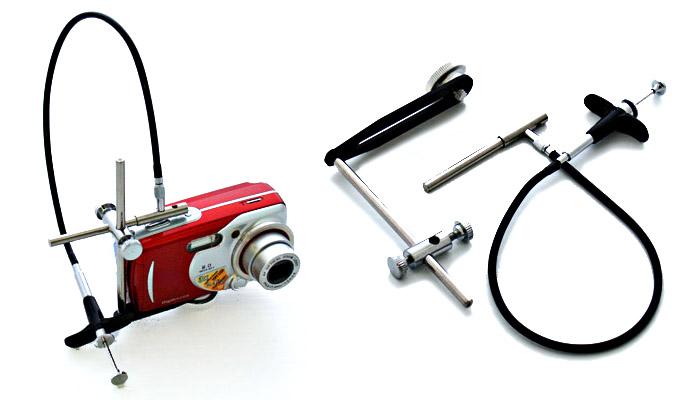 L'adaptateur escamotable pour appareil photo numérique